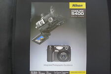 NIKON COOLPIX 5400 5.1 MP PRO TYPE CAMERA VERY GOOD  CONDITION