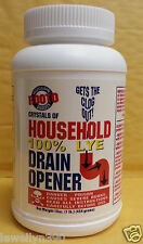 Rooto 100% Household Lye Drain Opener 16oz  Red Devil