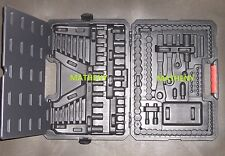 Craftsman Molded Tool Carry Case~Toolbox~Socket~Ratchet~Wrench~165 pc ~ No Tools