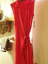 VINCE CAMUTO Anniv. Ed. NORDSTROM NWT $99 Womens  Red collared Wrap Dress XS