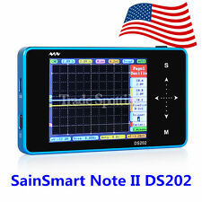 SainSmart DSO202 Note II DS202 Mini Touch 2-Ch Oscilloscope Blue Shell US Ship