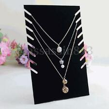 Necklace Pendant Chain Bracelet Jewelry Display Easel Stand Holder OrganizerRack