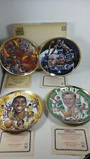 Michael Jordan Larry Bird Magic Shaq Sports Impressions Gold Edition 1991 Plate