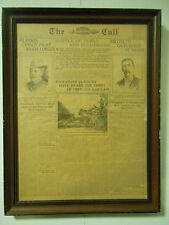Antique 1899 The Call S.F. Newspaper Article HAWAIIANS heard SPIRIT of KAIULANI
