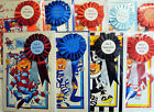 English Premier League No.1 Football Fan Man Boys Birthday Card & Rosette 14Club