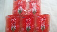10 GLADE PLUGINS SCENTED OIL REFILL FROSTED BERRY KISS WINTER HOLIDAY COLLECTION