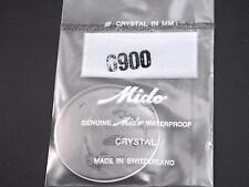 34mm Waterproof Ref#0900 Genuine Mido Vintage Watch Crystal Mens New Old Stock