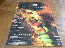DEARLY BEHEADED - Publicité de magazine / Advert TEMPTATION !!!!!!!