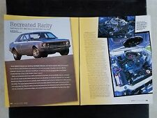 1971 AMC Hornet SC/360 - 6 Page Article - Free Shipping