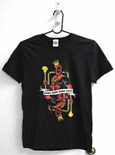 Deadpool Playing Card T-Shirt Small