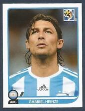 PANINI-SOUTH AFRICA 2010 WORLD CUP- #110-ARGENTINA & MARSEILLE-GABRIEL HEINZE