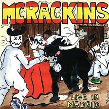 MCRACKINS - LIVE IN MADRID CD (1996) CRAZY CANADA PUNK / 22 SONGS