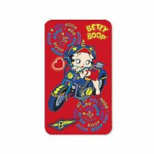 "Betty Boop Refrigerator Magnet Red Motorcycle 2x4"" Lenticular Flip #BB205-MA#"