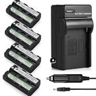 NP-F330 Battery Pack for Sony NP-F550 NP-F570 NP-F750 NP-F960 F970 F770 +Charger