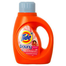 Tide April Fresh Scent Liquid Laundry Detergent with Downy 19 Loads 37 oz NEW