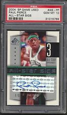 2004-05 Paul Pierce SP Game Used All-Star Sigs 22/25 PSA 10 769