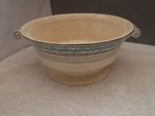 SMALL MINTON TUREEN BASE IN GUILDFORD PATTERN   NO LID  SILVER COLOURED TRIM