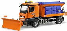 Bruder Toys MB Arocs Winter Service Snow Truck with Plough Blade  03685 NEW