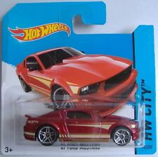 Hotwheels (2014) '07 FORD MUSTANG - #095/250 - 1/64 - HW CITY - RED