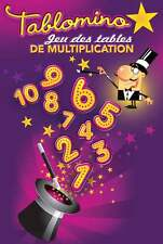 Tablomino, jeu des tables de multiplication