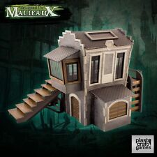 Plast Craft Games Malifaux Downtown Building box new