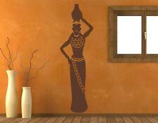 African Woman II Wall Decal, sticker, mural vinyl art