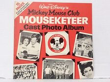 1956 Walt Disney's Mickey Mouse club Mouseketeer cast photo album  Annette Jimmy