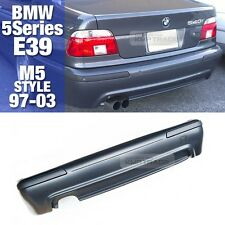 M5 Style Rear Bumper With Single Diffuser Skirt For BMW 1997-2003 5 Series E39