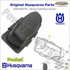 532195373 - Husqvarna Grass Catcher Cover - Original Part w/Cover, Gasket & Seal