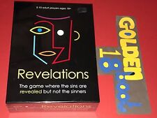 REVELATIONS ADULT PARTY BOARD GAME - NEW SEALED CHRISTMAS GIFT PAUL LAMOND GAMES