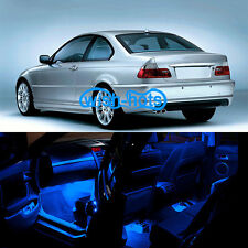 21x Interior LED  Error Free Blue Bulbs For BMW E46 Sedan Coupe M3 1998-2005