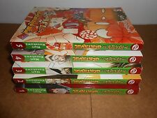 The Recipe for Gertrude vol. 1-5 Manga Graphic Novel Book Complete Lot English