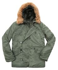 Alpha Industries Men's N-3B Parka,  Sage Green,  Large