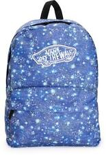 Vans Realm Galaxy Satellite Blue Backpack Book Travel Gym Bag New