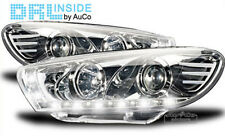 DRL Inside LED R87 real daytime running headlight set IN chrome for VW Scirocco