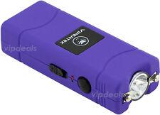 VIPERTEK VTS-881 110 MV Rechargeable Micro Mini Stun Gun LED Flashlight - Purple