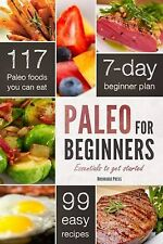 Paleo for Beginners Get Started Chatham Paperback 2013 Diet Plan Food Eat Meals