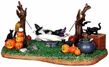 Lemax 44731 WITCHES' R & R Spooky Town Table Accent Animated Halloween Decor I