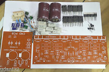 DIY Transistor Stereo Power Amplifier Kit 300W TIP3055 MJ2955 PCB + Components