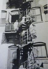 VINTAGE 1930'S PHOTO OF HERPOLSHEIMER'S EXTERIOR STAIRWELL IN GRAND RAPIDS MI