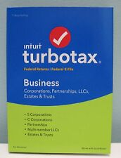 TURBOTAX BUSINESS 2016 FOR WINDOWS , NEW IN BOX