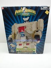 Power Rangers Zeo 1996 DX PYRAMIDAS The Carrier Zord Megazord With Original Box