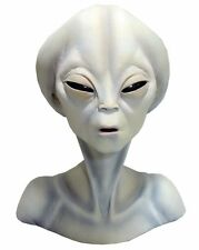 HALLOWEEN  ROSWELL ALIEN BUST AREA 51 PROP YARD DECORATION HAUNTED HOUSE