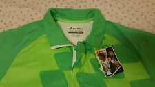Lotto T-Shirt Conner Net Tennis - Fluo Clover/Fluo Green, US Size S