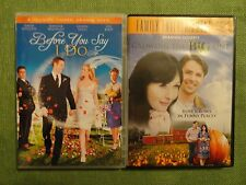 LOT OF 2 DVD'S- HALLMARK MOVIES- BEFORE YOU SAY I DO & GROWING THE BIG ONE