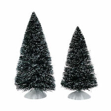 Dept 56 Bag-O-Frosted Topiaries Medium 2015 4047562 Trees set of 2 Department 56