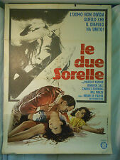 Le due Sorelle manifesto poster  Brian De Palma Kidder Durning thriller Sisters