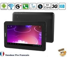 """Tablette PC TACTILE 3G 7"""" Pouces Android GPS GSM Phablet Smartphone HD 8GO"""