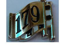 179  EH / HD BOOT BADGE LOGO LAPEL PIN BADGE--- 1963 TO 1965.    C040301