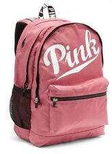 Victorias Secret PINK CAMPUS BACKPACK SOFT PINK BEGONIA - 2016 - NWT
